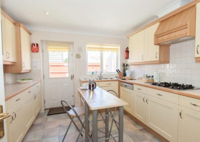 The kitchen at Fairways, Woolacombe