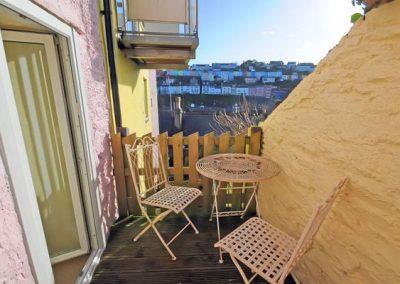 The patio @ Farthing Cottage, Brixham