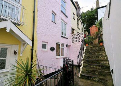 Outside Farthing Cottage, Brixham