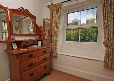 Bedroom #2 at Fisherton Cottage, Poughill