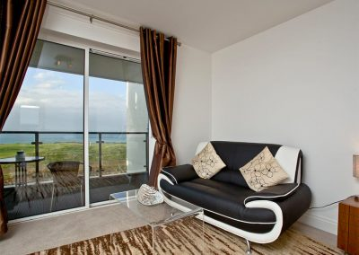 Bedroom #1 at Fistral View, 14 Bredon Court, Newquay