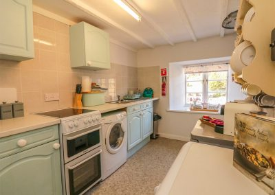 The kitchen at Florries, Barbrook