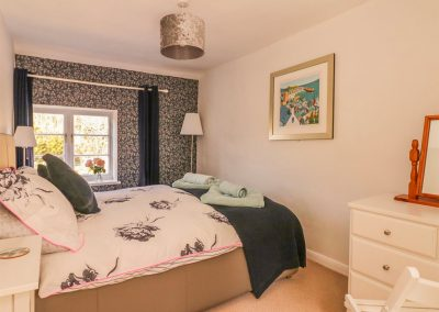 Bedroom #1 at Florries, Barbrook