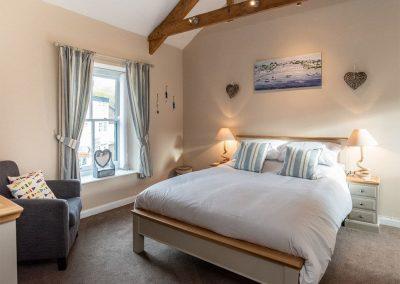 Bedroom #1 at Gemstone Cottage, Brixham