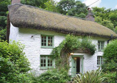 Outside George's Cottage, Bucks Mills
