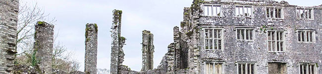 Ghostly happenings at Berry Pomeroy Castle near Totnes