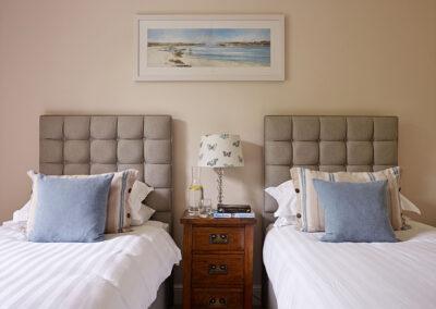 Bedroom #3 at Gitcombe House, Gitcombe Estate, Cornworthy