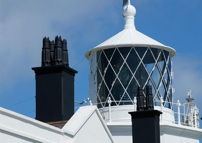 Lizard Lighthouse marks the most southerly point of mainland Britain