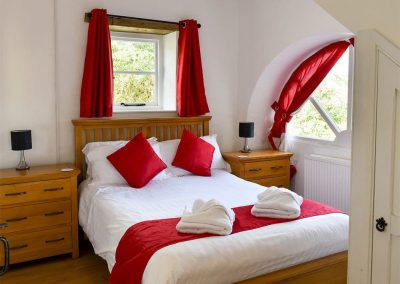 Bedroom #1 at Granary, Glebe House Cottages, Bridgerule