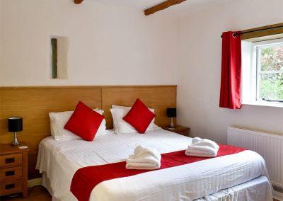 Bedroom #2 at Granary, Glebe House Cottages, Bridgerule