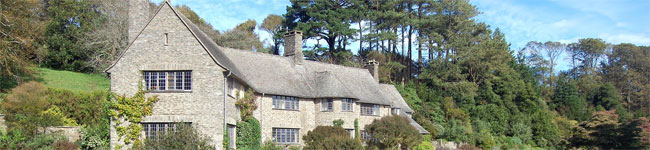 Coleton Fishacre is the arts & crafts style family home of the D'Oyly Carte family. Furnished in 1920s style, the house is surrounded by superb gardens.