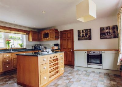 The kitchen at Great Horner, Halwell