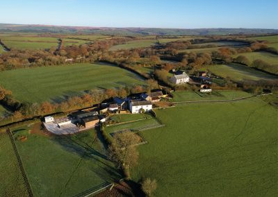 Green Knowe Cottage, Knowstone is situated on an old farm, surrounded by miles of countryside
