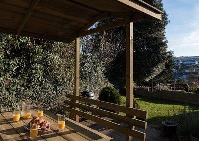 The garden @ Guillemots, Brixham