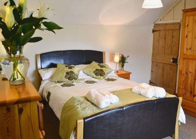 Bedroom #1 at Gwel-An-Porth, Charlestown Cottages, Charlestown