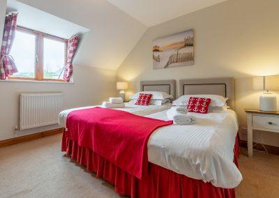 Bedroom #2 at Gwella, Roserrow, Polzeath