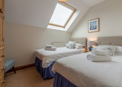 Bedroom #3 at Gwella, Roserrow, Polzeath