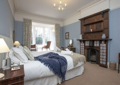 Bedroom #4 at Hallsanery House, Landcross