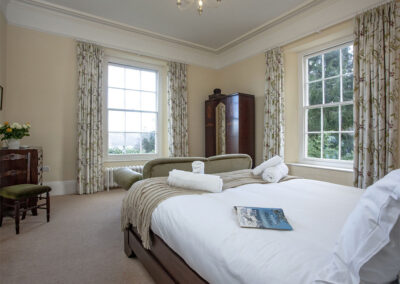 Bedroom #6 at Hallsanery House, Landcross