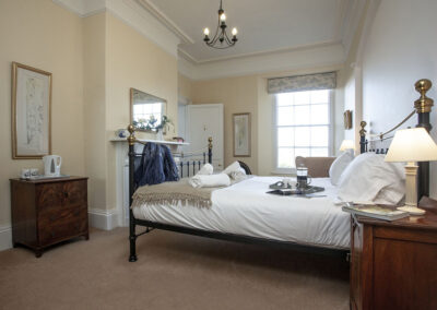 Bedroom #7 at Hallsanery House, Landcross