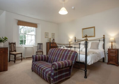 Bedroom #8 at Hallsanery House, Landcross