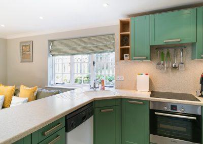 The kitchen at Hamilton House, Branscombe