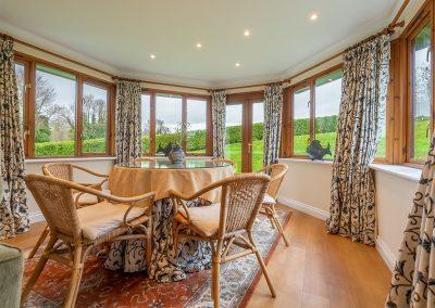 The conservatory at Hampden, Roserrow, Polzeath