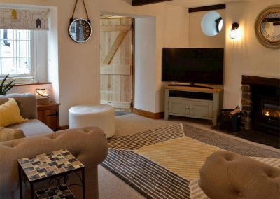 The living area at Harbour Hideaway, Ilfracombe