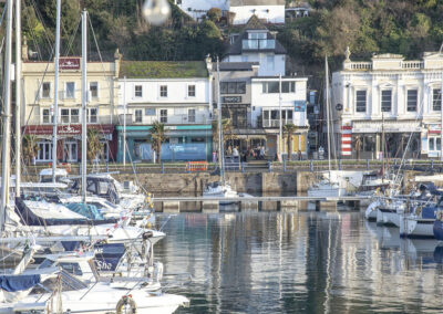 Outside Harbour Lights, Torquay