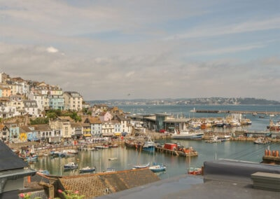 Harbour views from Harbour View Retreat, Brixham