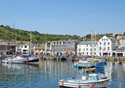 Harbourside Apartment, Mevagissey is perched above the vibrant & bustling harbour