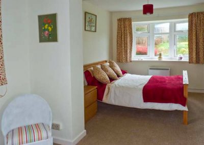 Bedroom #1 at Harlyn, Mevagissey