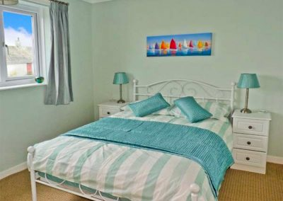 Bedroom #2 at Harlyn, Mevagissey