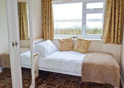 Bedroom #3 at Harlyn, Mevagissey