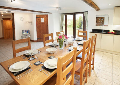The dining area at Harvest Moon, Feniton