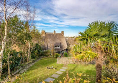 The garden at Hearthstone East Cottage, Brixham