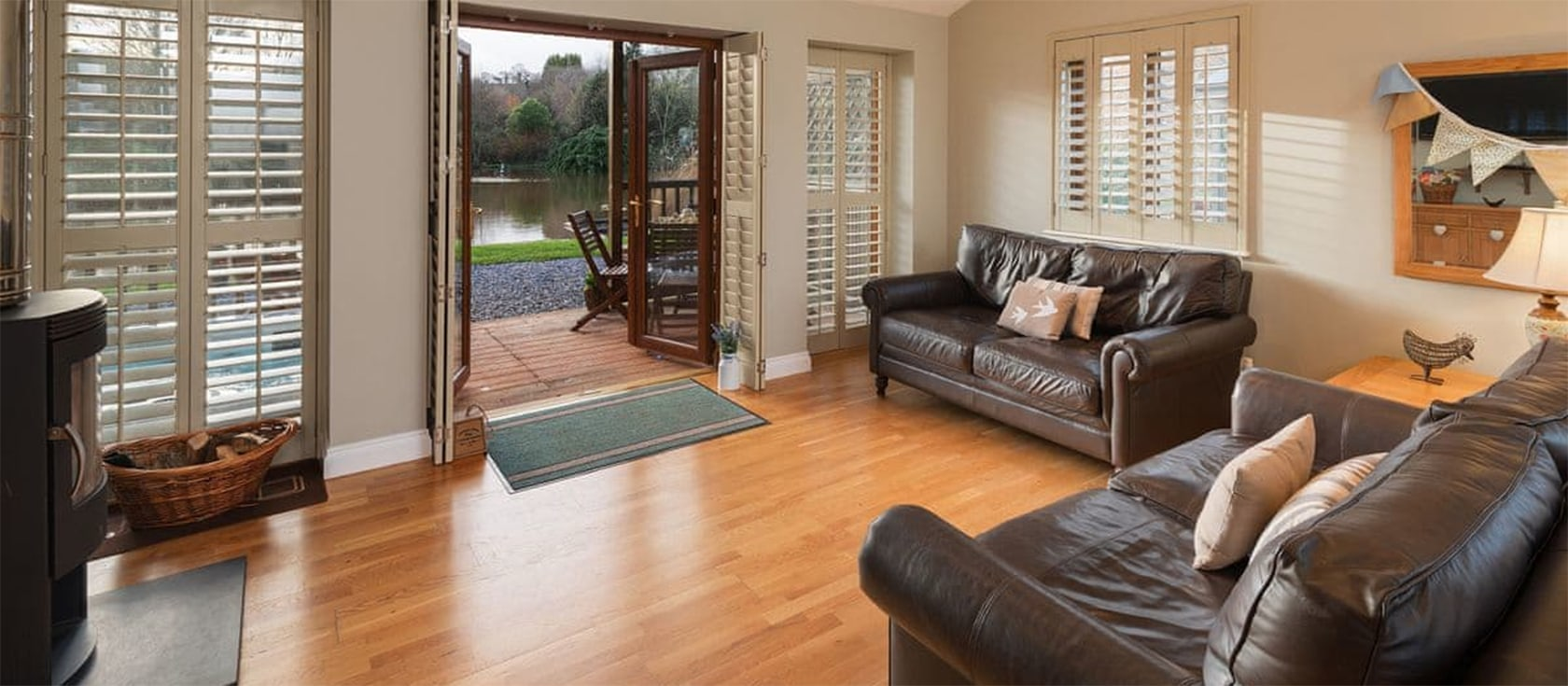 Heron Lodge, South View Lodges, Shillingford St George