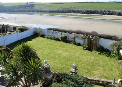 The garden at Heybrook Court, Newquay