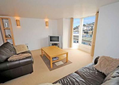 The living area @ High Hopes, Brixham