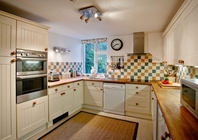 The open plan kitchen @ Higher Shute, Looe