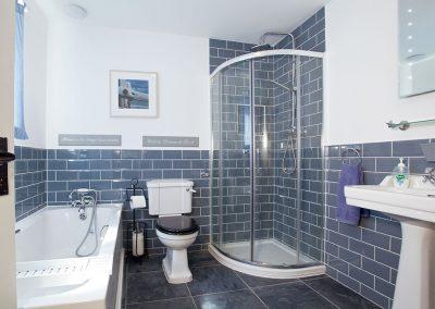Bedroom #1 en-suite at Hill Head View, St Columb Major