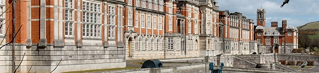 Historic Dartmouth Royal Naval College opens its doors for tours