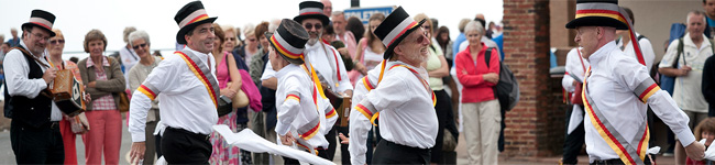 There are more than 600 workshops, concerts and events cram into eight harmonious days at the Sidmouth Folk Week, making it well worth vising.