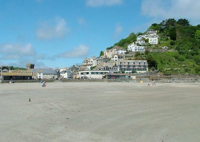 Looe is just a short drive from Inglenook Cottage, Polperro