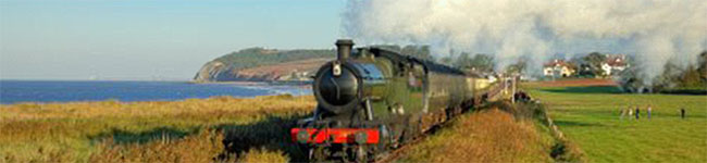 Those staying on Exmoor should definitely put the West Somerset Railway, the longest preserved railway in the UK, on their list of things to do.