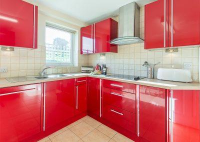 The kitchen at Jalousie, Polzeath