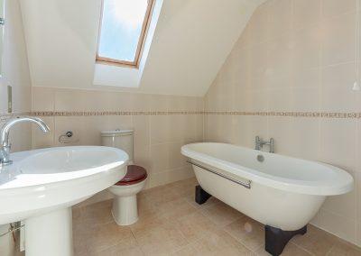 Bedroom #1 en-suite at Jalousie, Polzeath