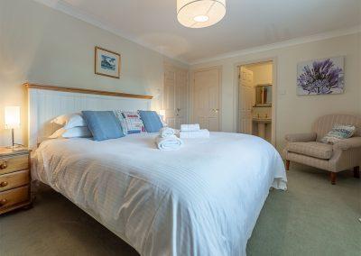 Bedroom #1 at Keepers Cottage, Roserrow, Polzeath