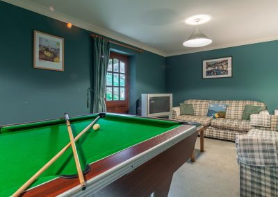 The games & family room at Keepers Cottage, Roserrow, Polzeath