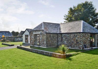 The garden at Kettle's On, Higher Churchtown Farm, Tresmeer